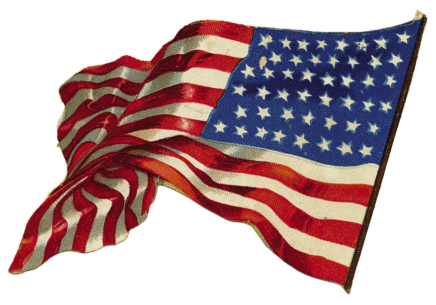 free animated clip art american flag - photo #14